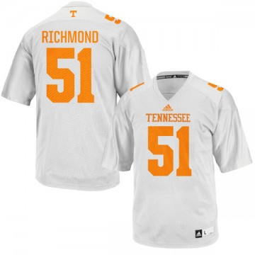Men's Drew Richmond Tennessee Volunteers Limited White adidas Football Jersey -