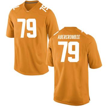 Men's Jarious Abercrombie Tennessee Volunteers Replica Orange College Jersey