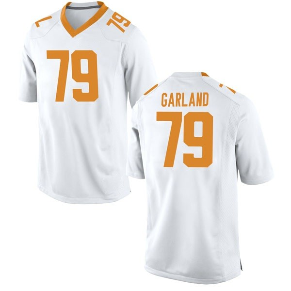 Men's Kurott Garland Tennessee Volunteers Nike Game White College Jersey