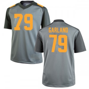 Men's Kurott Garland Tennessee Volunteers Nike Replica Gray College Jersey