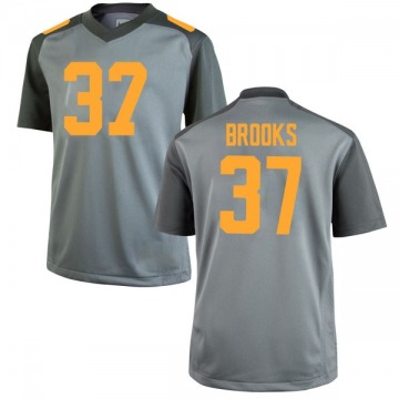 Men's Paxton Brooks Tennessee Volunteers Nike Replica Gray College Jersey