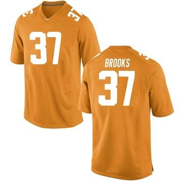 Men's Paxton Brooks Tennessee Volunteers Nike Replica Orange College Jersey