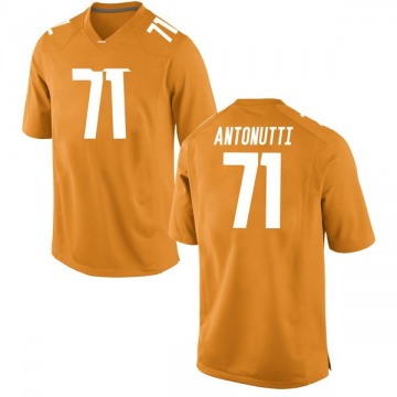 Men's Tanner Antonutti Tennessee Volunteers Nike Replica Orange College Jersey