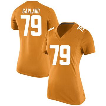 Women's Kurott Garland Tennessee Volunteers Nike Game Orange College Jersey