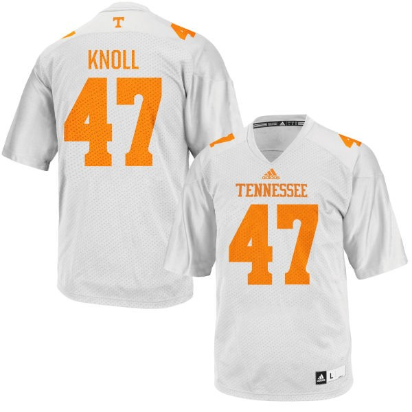 Women's Landon Knoll Tennessee Volunteers Replica White adidas Football Jersey -
