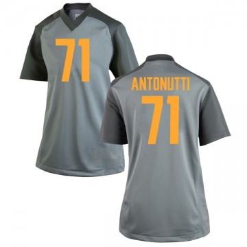 Women's Tanner Antonutti Tennessee Volunteers Nike Replica Gray College Jersey