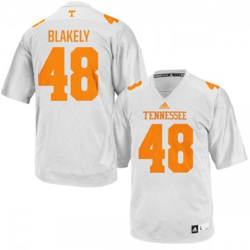 Youth Ja'Quain Blakely Tennessee Volunteers Authentic White adidas Football Jersey -