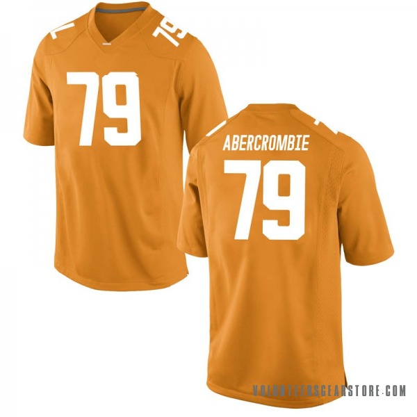Youth Jarious Abercrombie Tennessee Volunteers Nike Game Orange College Jersey