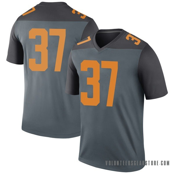 Youth Paxton Brooks Tennessee Volunteers Nike Legend Gray College Jersey